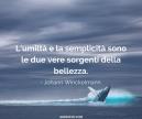 umiltà e semplicità